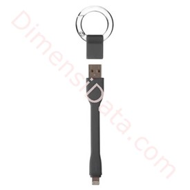Jual Ring Buckle Lightning Cable Targus Black [ACC99601]